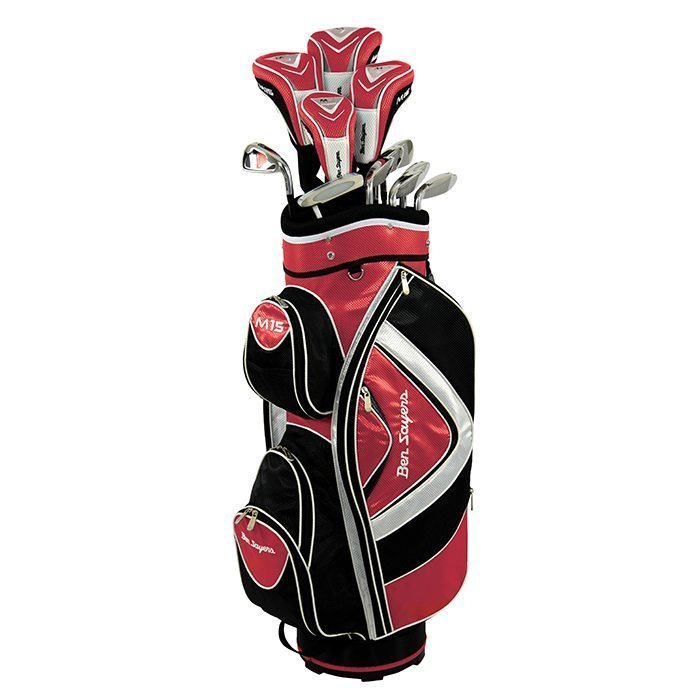 Ben Sayers M15 Package Cart Bag - Red
