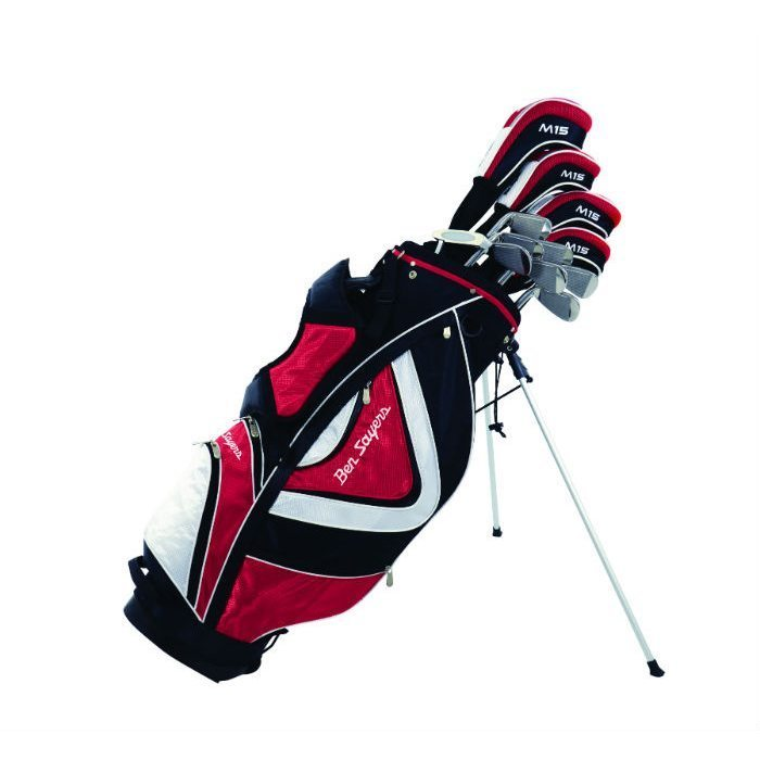 Ben Sayers M15 Package Stand Bag - Red
