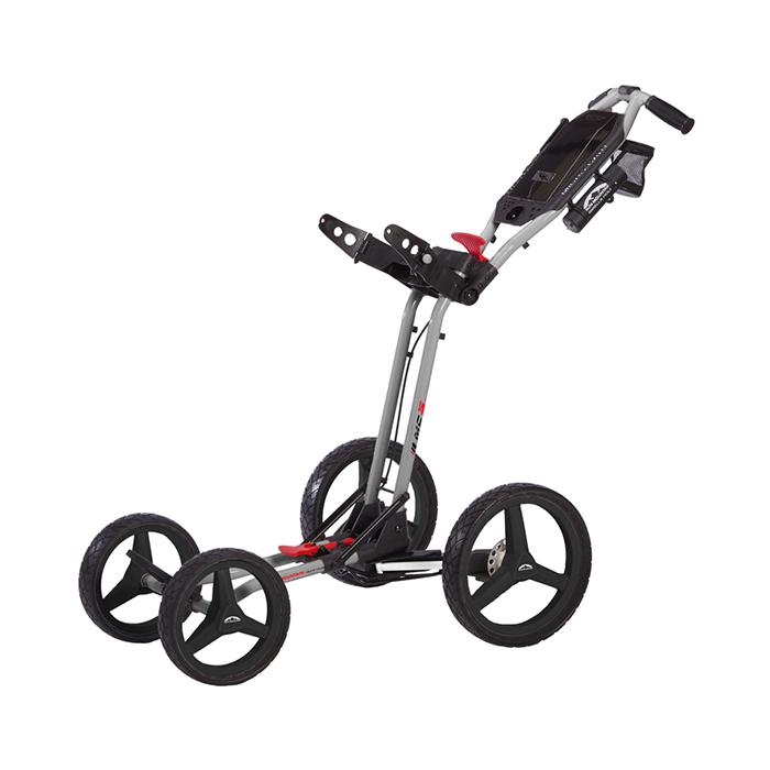 Sun Mountain Micro Cart 3 Silver Red