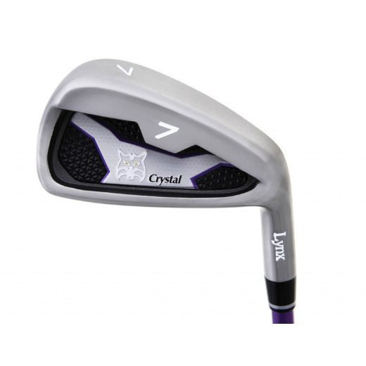 Lynx Golf Ladies Crystal Irons 2015 Graphite (5-SW)