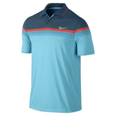 Nike Modern Major Moment Polo Shirt - Clearwater/Anthracite