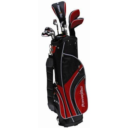 Powerbilt Tourbilt Men's Package Set (Red Bag