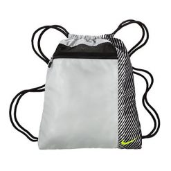 Nike Sport II Golf Shoe Sack - Silver/Volt/Black