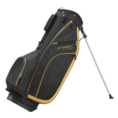 Wilson Carry Lite Golf Bag - Black/Yellow