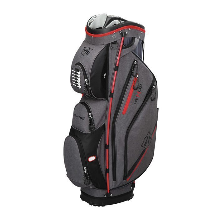 Wilson Staff Nexus II Cart Bag - Grey/Red