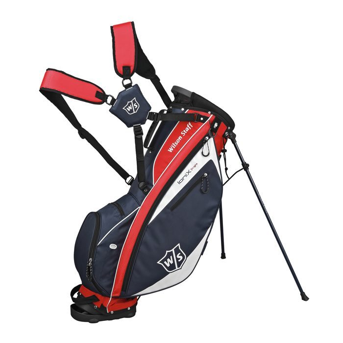 Wilson Staff Ionix Light Carry Bag - Navy/Red