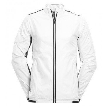 adidas Golf ClimaProof Wind Jacket - White/Black