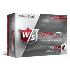 Wilson Staff DX2 Soft White Golf Balls