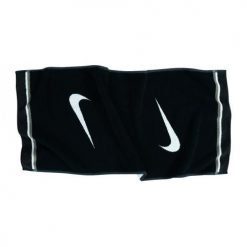 Nike Tour Jacquard Golf Towel - Black