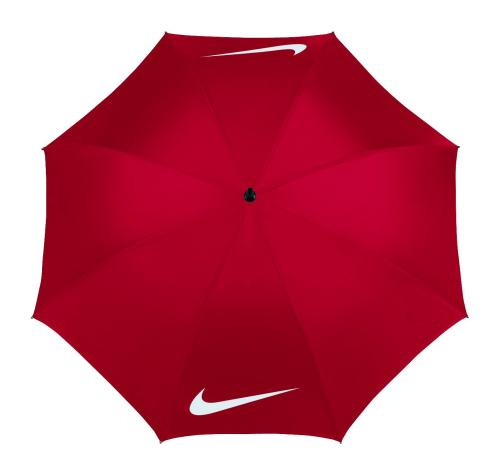 Nike 62 inch Windproof VI Golf Umbrella - Red/White