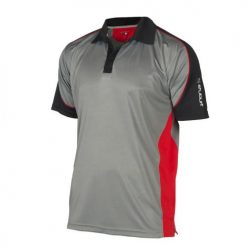 Stuburt Sport Panel Performance T-Shirt - Mercury/Poppy/Black