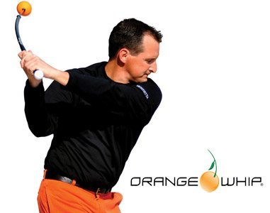 Orange Whip Golf Swing Trainer