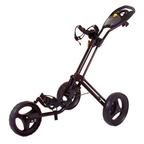 PowaKaddy Twinline 4 Push Golf Trolley - Black