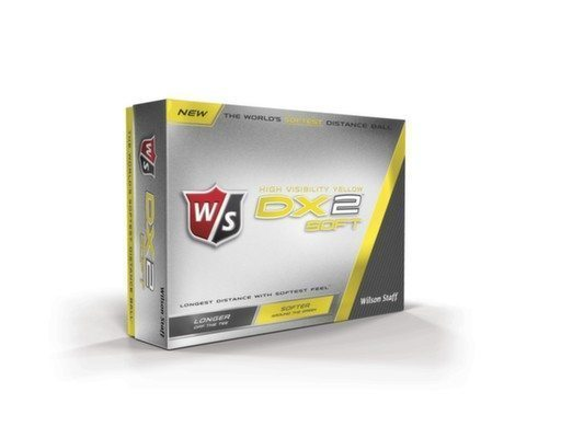 Wilson Staff DX2 Soft Yellow Golf Balls