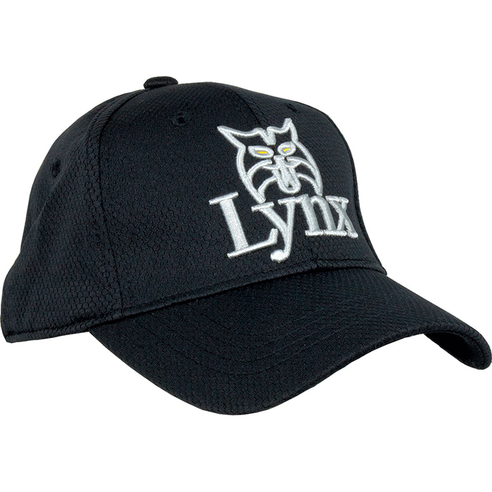 Lynx-Golf-Cap-Black