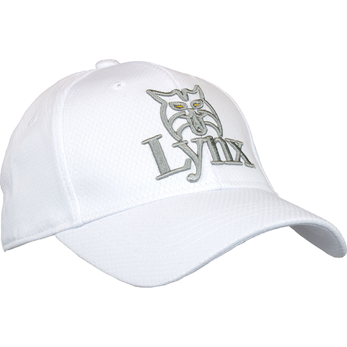 Lynx-Golf-Cap-White