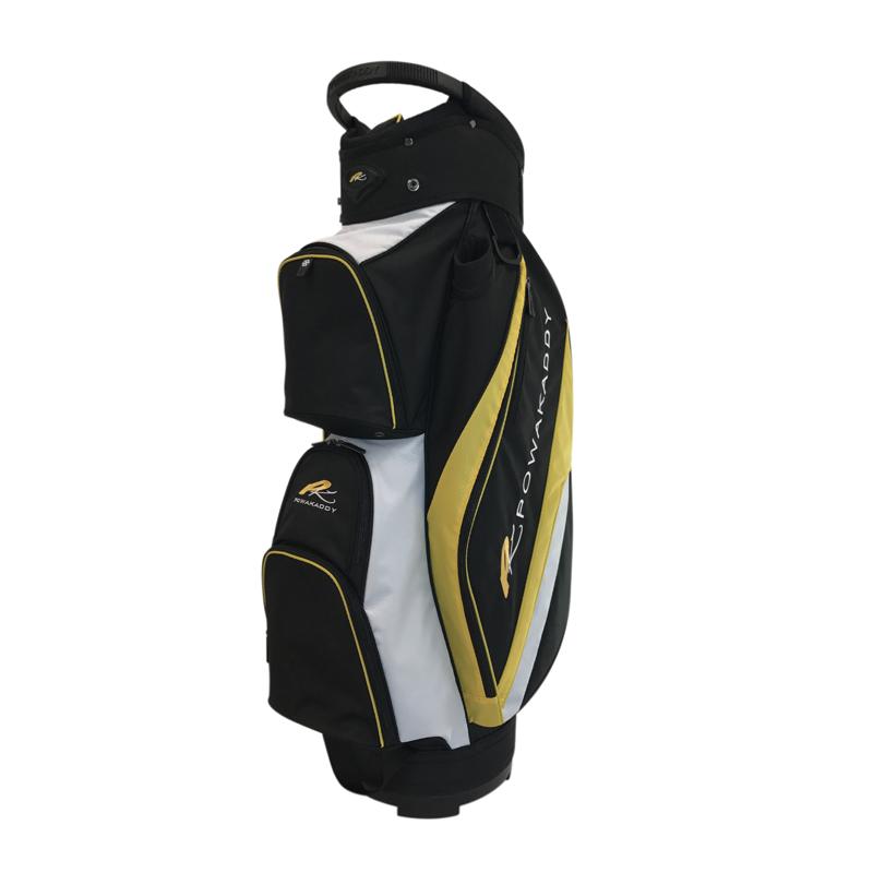 Deluxe-Cart-Bag-Black-Yellow