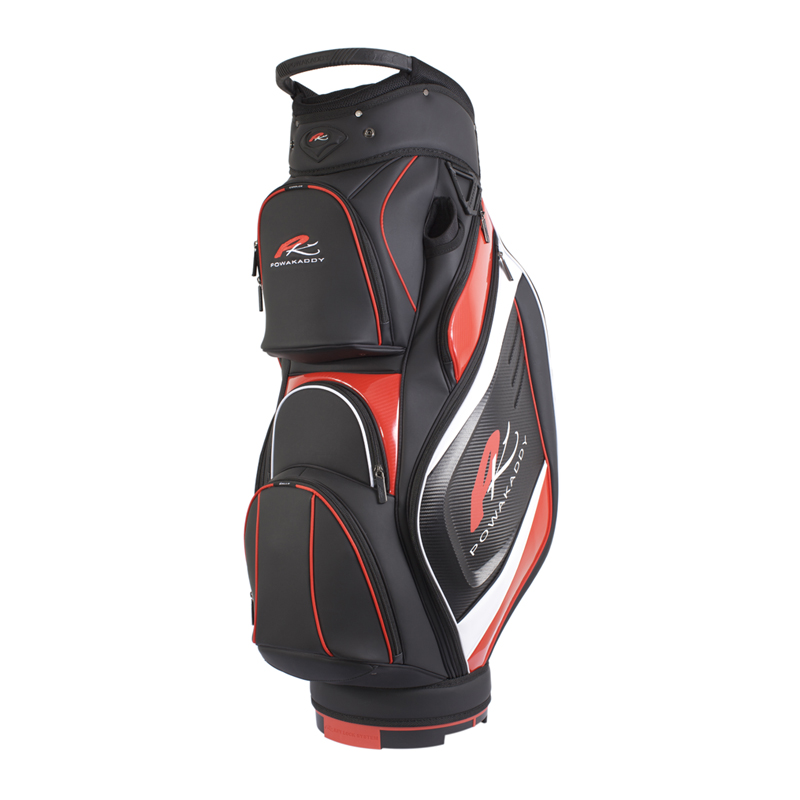 Premium-Cart-Bag-Black-Red