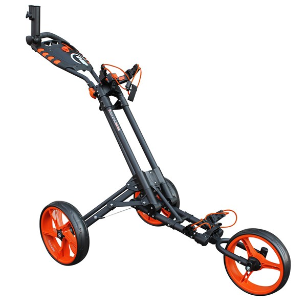 iCart One 3 Wheel One Click Push Trolley 2017