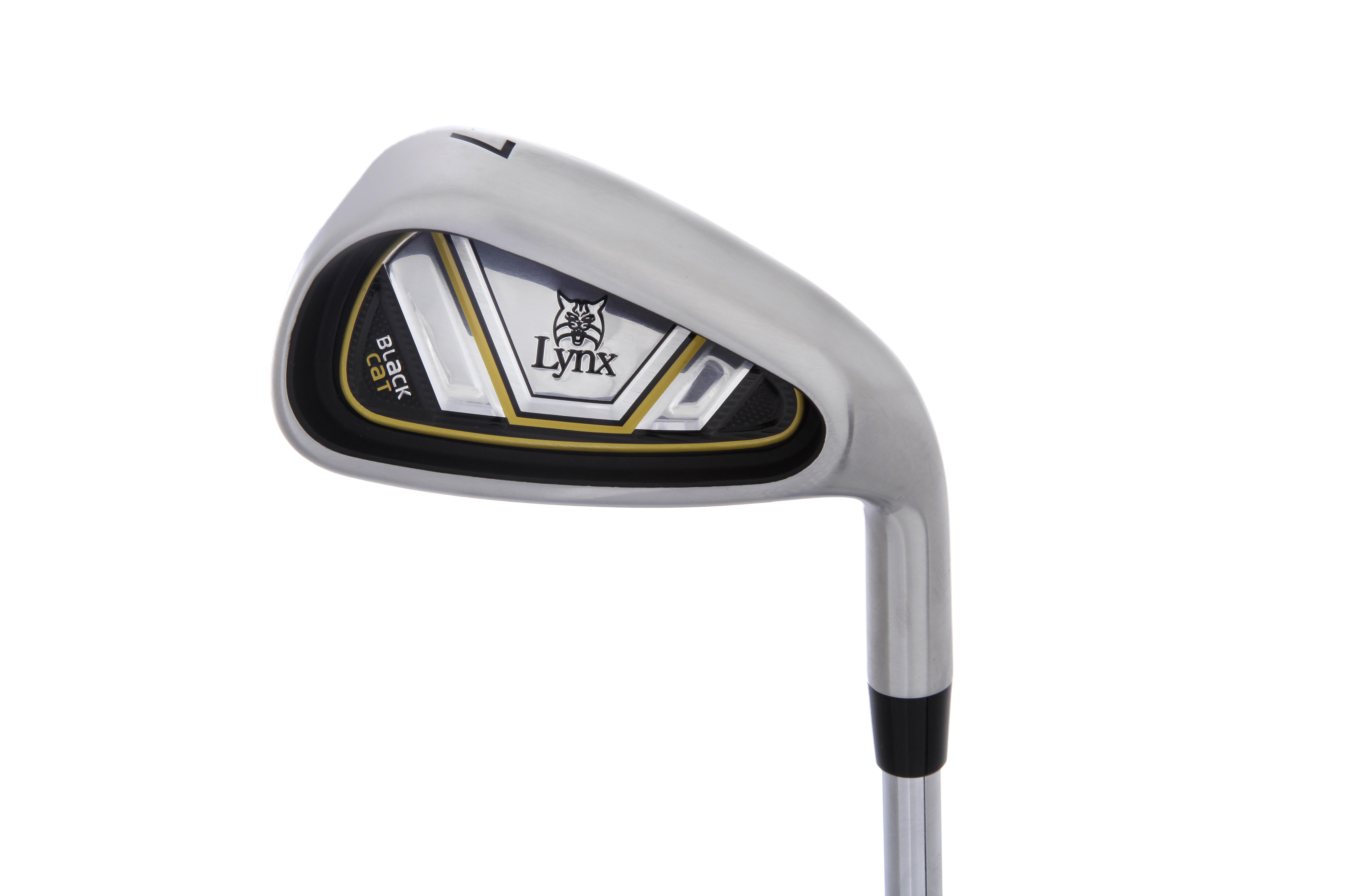 e1b8b095 Lynx Golf Black Cat Combo Set 5-SW + 3 & 4 Hybrids – Golf Direct ...