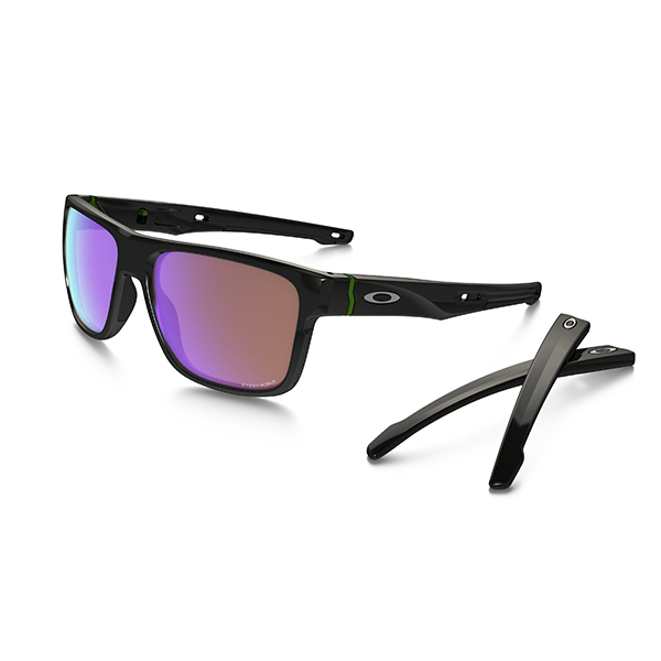 bec86bff14 Oakley Crossrange Prizm Golf Sunglasses Polished Black – Golf Direct ...