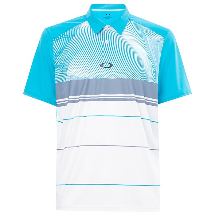 a0deaf9e7 Oakley Aero Motion Block Golf Polo Shirt – Golf Direct – the ...